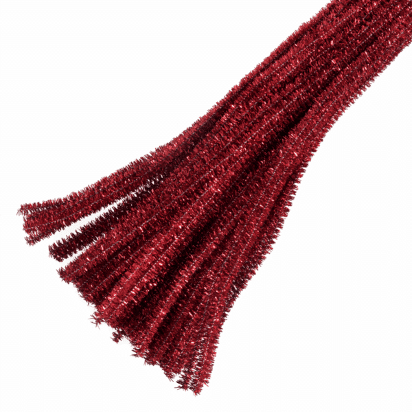 Trimits - Pipe Cleaners - Glitter Red 1