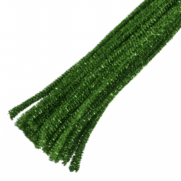 Trimits - Pipe Cleaners - Glitter Green 1