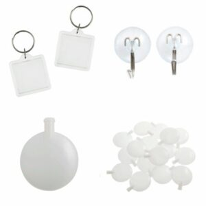 Key Rings, Squeakers & Suction Cups