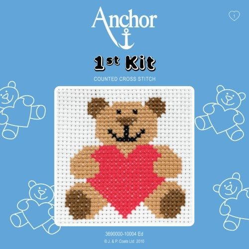 Anchor - 1st Cross Stitch Kit – Ed the Ted 1