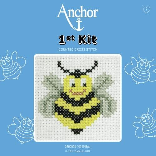 Anchor - 1st Cross Stitch Kit – Bee 1