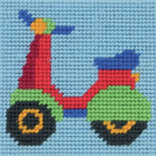 Anchor 1st Tapestry Kit - Paul's Scooter 2