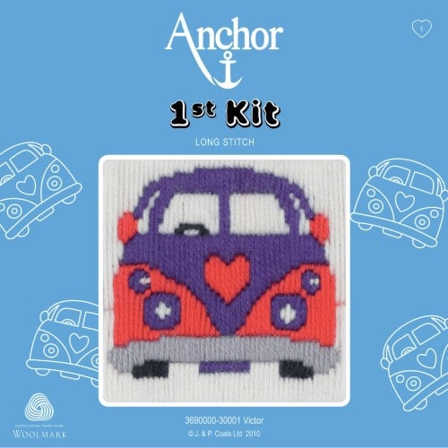 Anchor - 1st Long Stitch Kit - Victor 1