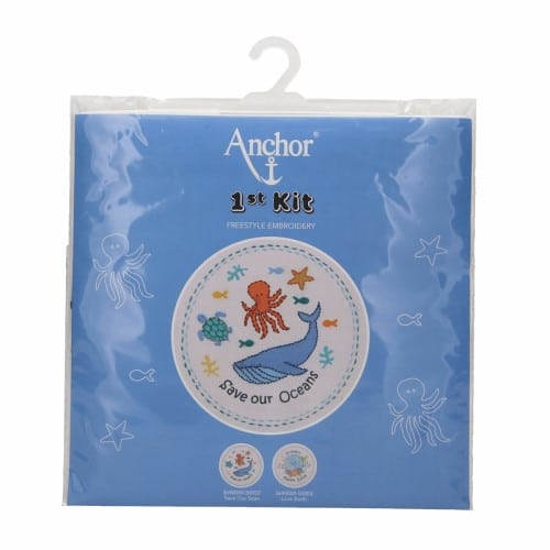 Anchor - 1st Embroidery Kit - Save our Seas 3