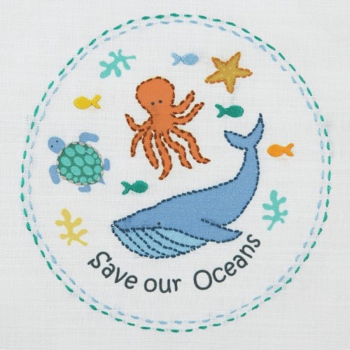 Anchor - 1st Embroidery Kit - Save our Seas 2