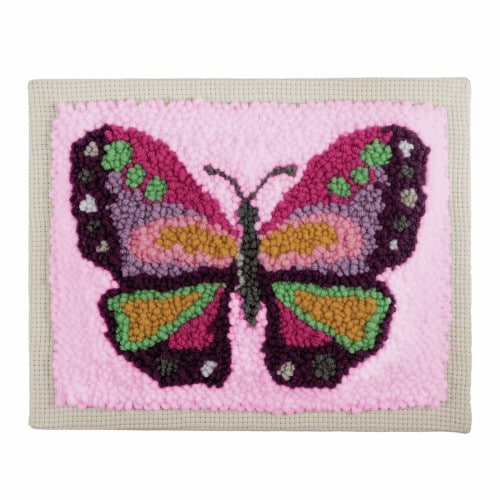 Trimits - Punch Needle Kit - Butterfly 3
