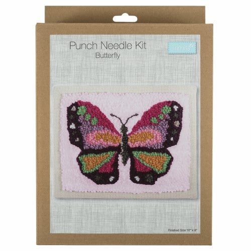 Trimits - Punch Needle Kit - Butterfly 1