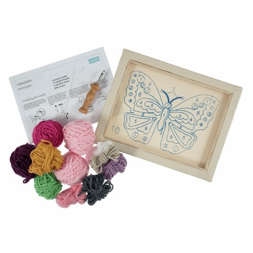 Trimits - Punch Needle Kit - Butterfly 2
