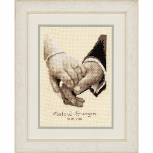 Vervaco - Counted Cross Stitch Kit - Wedding Happiness 1