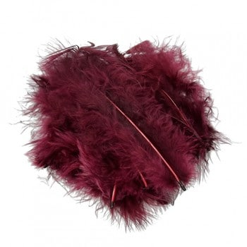 Efco - Marabou Feathers - Wine Red 1