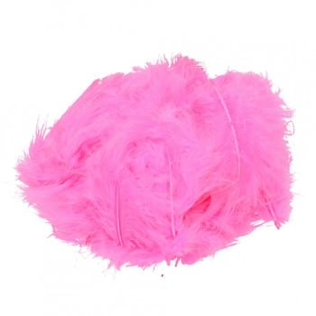 Efco - Marabou Feathers - Bright Pink 1
