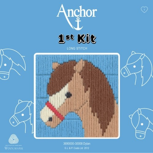 Anchor - 1st Long Stitch Kit - Dylan The Horse 1