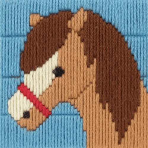 Anchor - 1st Long Stitch Kit - Dylan The Horse 2