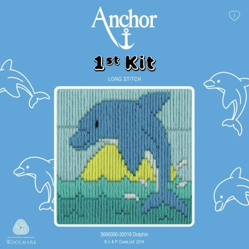 Anchor - 1st Long Stitch Kit - Dolphin 1
