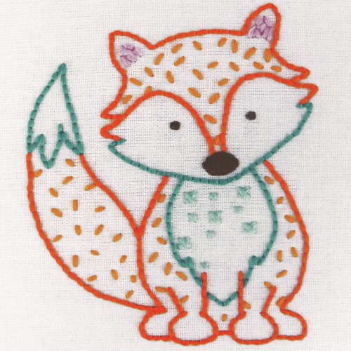 Anchor - 1st Embroidery Kit - Fox 2