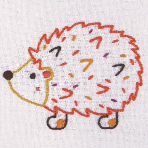 Anchor - 1st Embroidery Kit - Hedgehog 2