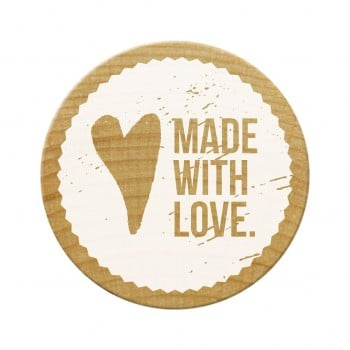 Woodies Stamps - Made With Love 1