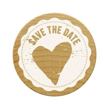 Woodies Stamps - Save The Date 1