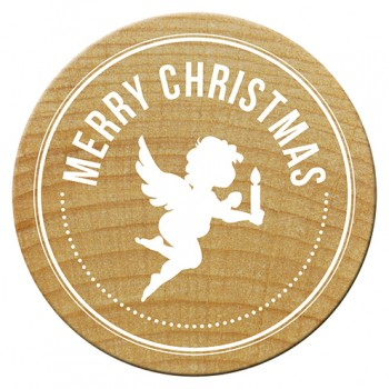 Woodies Stamps - Merry Christmas 1