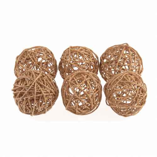 Occasions - Woven Jute Balls - Small 2