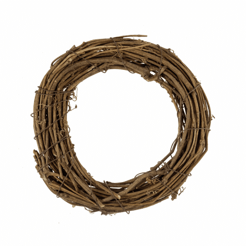 Wreath Base - Natural Willow - 20cm/8in 1
