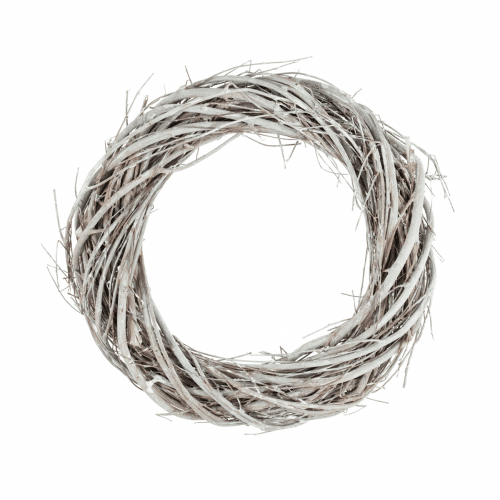 Wreath Base - Grey Willow - 20cm/8in 1