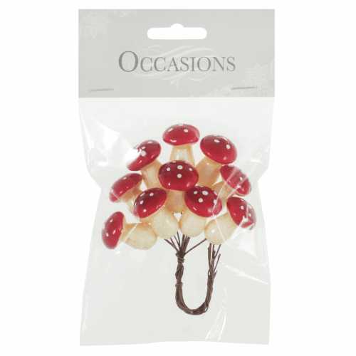 Occasions - Mini Toadstools on Wire 1